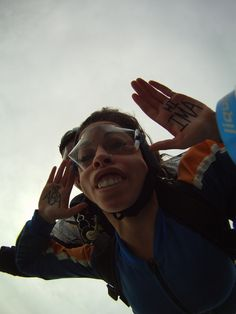 Skydiving: Check.