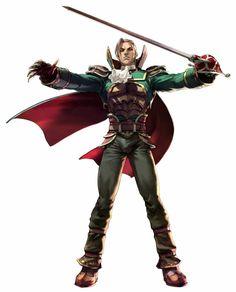 Soul Calibur III: Raphael ~ Potential male fencer/rouge/fighter