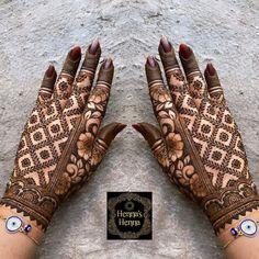 Rajasthani Mehndi Designs, Indian Henna Designs, Rose Mehndi Designs, Henna Tattoo Designs Simple, Back Hand Mehndi Designs, Mehndi Designs 2018, Henna Art Designs, Mehndi Designs For Girls, Mehndi Designs For Beginners