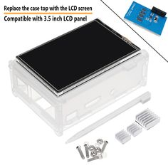 inch TFT LCD Display Touch Screen Kit with Case Heatsink for Raspberry Cheap Computers, Photography Camera, Camera Accessories, Diy Kits, Protective Cases, Mobile App, Consumer Electronics, Raspberry, Coding