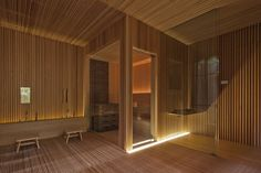 spa & gym center / design spirits co. Spa Design, House Design, Spa Interior, Interior And Exterior, Interior Design, Spas, Japanese Bath House, Spa Lighting, Industrial Office Design