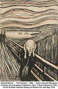 The scream/ Skrik av Munch