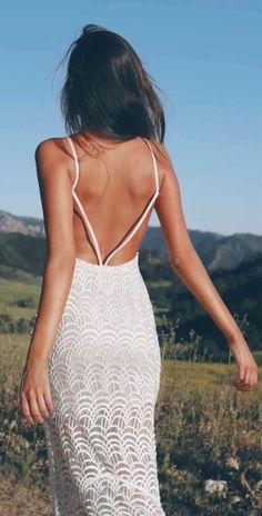 Dit willen we deze zomer allemaal: a white dress to impress - Jani Estilo Fashion, Boho Fashion, Fashion Beauty, Womens Fashion, Fashion Tips, Fashion Trends, Dress Outfits, Casual Dresses, Fashion Dresses