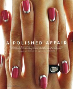 Beauty/Hands - Fleury Rose Nails http://pinterest.com/mstylesny/all-about-nails/