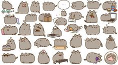 pusheen stickers meaning: pusheen stickers meaning