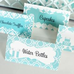 Something Borrowed, Something Blue, this Mod Party DecoratingKit is the answer for your winter wonderland party or wedding. Party Icon, Party Kit, Party Packs, Party Ideas, Tiffany Blue Party, Tiffany Theme, Tiffany Wedding, Blue Wedding, Winter Wonderland Party