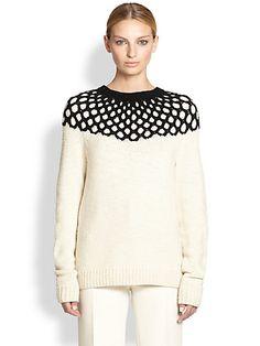 Derek Lam - Cashmere Combo-Knit Sweater - Saks.com