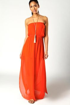 Talia Bandeau Maxi Dress