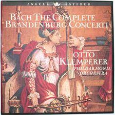 Bach*, Otto Klemperer, Philharmonia Orchestra - The Complete Brandenburg Concerti: Album For Sale B Flat Major, G Major, Lp Album, Orchestra, Baroque, Label, Canada, Treats, Country