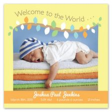 Birth Announcements - Twiggy Welcome. Introduce your newest addition with our adorable baby announcements. Add coupons for mom-friendly products to the back to lower the cost of your cards! Free Baby Shower Invitations, Free Cards, Friends Mom, Baby Sleep, Birth Announcements, How To Introduce Yourself, Your Cards, Welcome, Twiggy