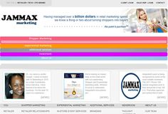 Jamax Marketing is #onepage #php based website