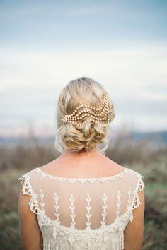 Unique Wedding Veil Alternative Modern Bridal Headpiece By Danani