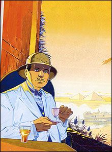 Death on the Nile by Agatha Christie / the graphic novel