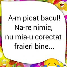 Când ai picat bacul - Viral Pe Internet Funny Pictures, Funny Pics, Funny Stuff, Comedy, Internet, Lol, Humor, Quotes, Crushed Stone