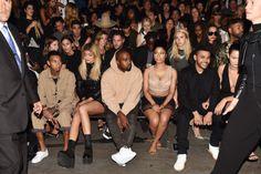 kylie jenner karruche tacos | Nicki Minaj, Kanye West, Kylie Jenner, Karrueche : tous au défilé ...