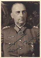 General der Infanterie Karl Kriebel (26 February 1888 – 28 November 1961) captured in 1945 and was released in 1947. Knight's Cross of the Iron Cross on 4 July 1940 as Generalmajor and commander of 56. Infanterie-Division