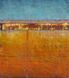 From Jeff Juhlins 2012 Encaustic Paintings.  Utah Artist....took an encaustic class with  him...very patient & supportive..