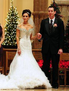 Her dress is so beautiful! Kyle Busch Wife, Kyle Busch Nascar, Nascar Sprint Cup, Nascar Racing, Celebrity Couples, Celebrity Weddings, Kyle Bush, Famous Couples, Wife And Girlfriend