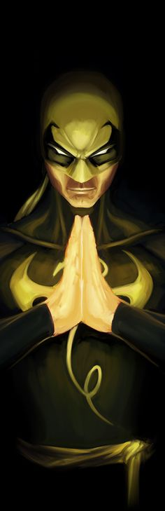 "extraordinarycomics: ""Iron Fist by David Joyce. """