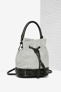 Nasty Gal x Nila Anthony Handle the Truth Drawstring Bag - Accessories | Bags…