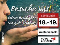 Besuche #hapateam  auf der #hausmesse von Foto Erhardt! Alle #Infos zur Messe unter http://www.fotofachtage.de/?utm_content=bufferad1b3&utm_medium=social&utm_source=pinterest.com&utm_campaign=buffer