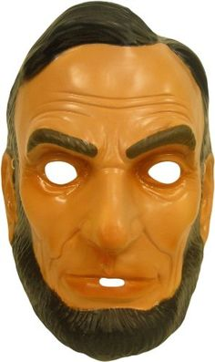 Adult Plastic Mask - Abraham Lincoln