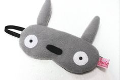 Kawaii Sleeping Eye Mask - TOTORO by swiedebie. Link: www.etsy.com/...