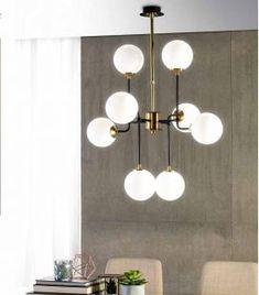 Comprar online Lámpara de techo de estilo Industrial modelo BLOB Led, Chandelier, Ceiling Lights, Lighting, Ideas, Home Decor, Model, Contemporary Style, Hanging Lamps