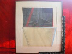 american signed works on paper from the 70's - listed artist