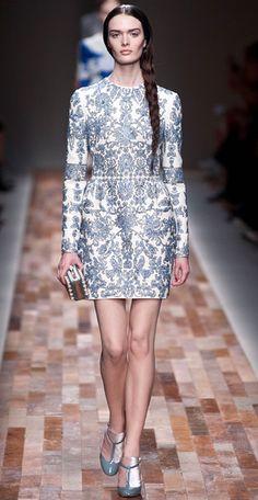 Runway Looks We Love: Valentino. New York Fashion Week.