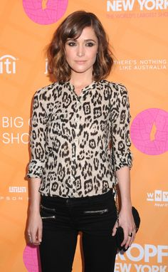 Rose Byrne, I love her she is so natural but gorgeous