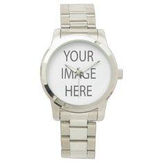 #createyourown #customize - #Create Custom Oversized Silver Bracelet Watch