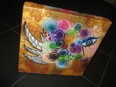 """Creative Eye"" Printed On Canvas  *Custom Canvas Prints Available"