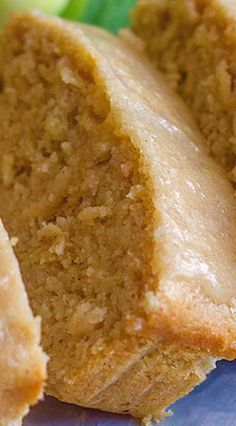 Glazed Apple Cinnamon Oatmeal Bread: Soft and moist, and bursting with apple flavor. No mixer required :) Apple Recipes, Fall Recipes, Sweet Recipes, Baking Recipes, Bread Recipes, Yogurt Recipes, Apple Desserts, Apple Cinnamon Oatmeal, Oatmeal Bread