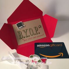 How to Make a Gift Card Holder                                                                                                                                                      More