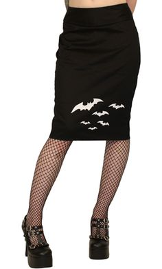 Dressed to kill bat skirt