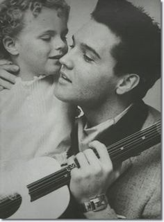 Elvis Presley and Sheila Riddell | March 24, 1960 Fontainebleau Hotel.