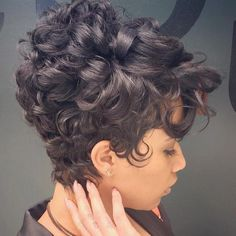 Soft Waves on a pixie cut