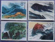 China Stamps - 1990, T155 , Scott 2305-08 Mount Hengshan, MNH, F-VF by Great Wall Bookstore, Las Vegas. $1.28. Mount Hengshan, near Hengyang City in Hunan Province, has 72 lofty peaks and winds for 400 km through seven counties and cities. The summit, Zhurong Peak, is 1,290 m. above sea level. Mount Hengshan is famous for its scenery and places of historic interest, such as the Seven Ancestors Daochang (place where Taoist rites are performed), and the Zhuling Holy Spo...