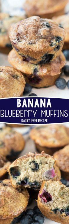 BANANA BLUEBERRY MUFFINSReally nice recipes. Every hour.Show me  Mein Blog: Alles rund um die Themen Genuss & Geschmack  Kochen Backen Braten Vorspeisen Hauptgerichte und Desserts