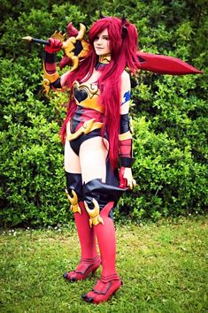 Erza Scarlet (Fairy Tail) cosplay by AnitramNoriko