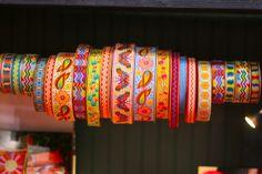 bohemian ribbons