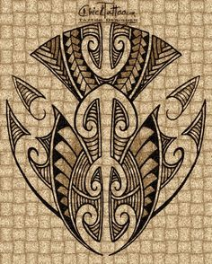 Maori Style Tattoo Designs by ChickTattoo