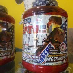 Proteína asimilación rápida sabor sbiggers Todo esto y más en www.ironcansport.com