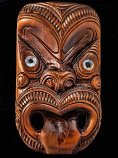 New Zealand War Mask