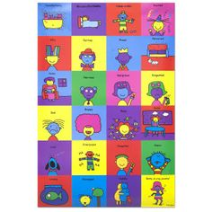 Todd Parr's Feelings Poster! I love my Todd Parr feelings cards and so do all my clients!
