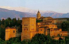 Alhambra-Granada Spain.  The summer before my Junior yr I went all over Spain with Spanish club...Barcelona, Granada, Sevilla, Madrid.  I hope to go back someday because I didn't appreciate as much as I could have.