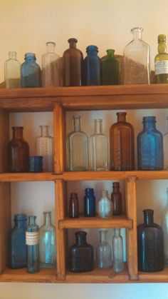 Phase 2 of my vintage bottle collection.  07.12.14