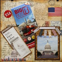 Part of the New York - Washington DC trip my boss took with his son Scrapbook Templates, Scrapbook Cards, Scrapbooking Ideas, Scrapbook Layouts, Best Vacations, Vacation Trips, Road Trip Usa, Usa Roadtrip, Boston Vacation