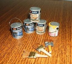 How to make Paint Tins